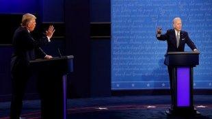 Debat Pertama Capres USA Donald Trump VS Joe Biden Berlangsung Sengit