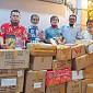 Forum Jurnalis Batak Sumbang Ribuan Buku Ke Samosir